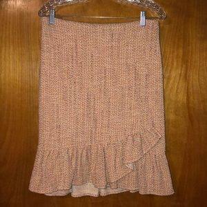 Anthropologie Tweed Pencil Skirt